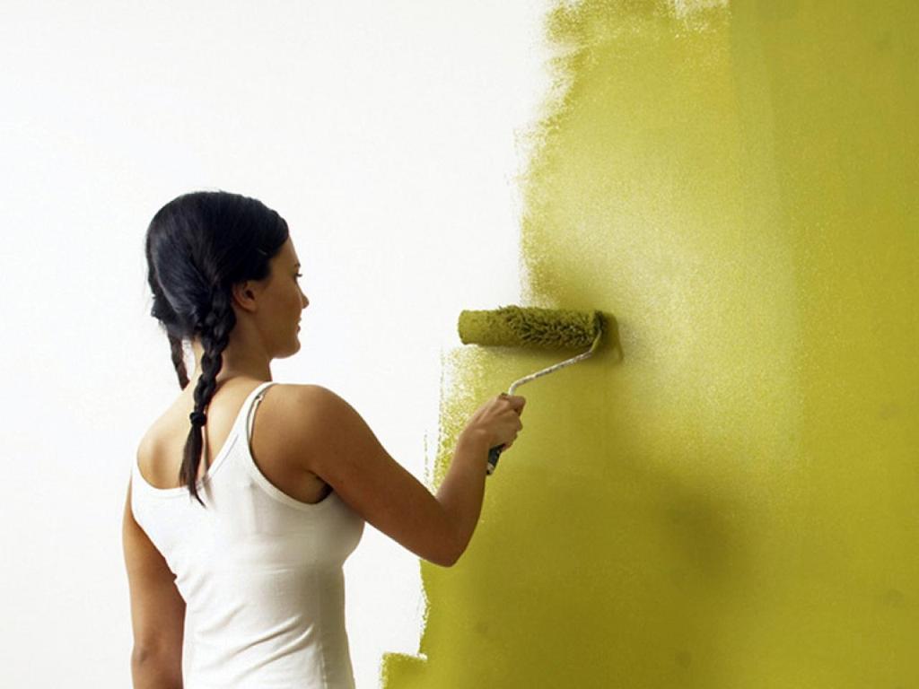 w nde richtig streichen r ume mit farbe selbst gestalten wie. Black Bedroom Furniture Sets. Home Design Ideas