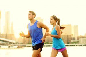 Das Anfersen beim Jogging