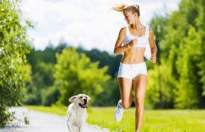 Der Kniehub beim Jogging