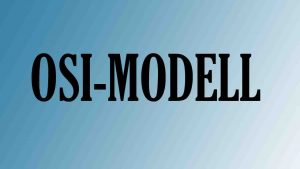 OSI-Modell