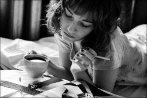 lernen mit Kaffee