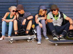 Clique für Jugendliche