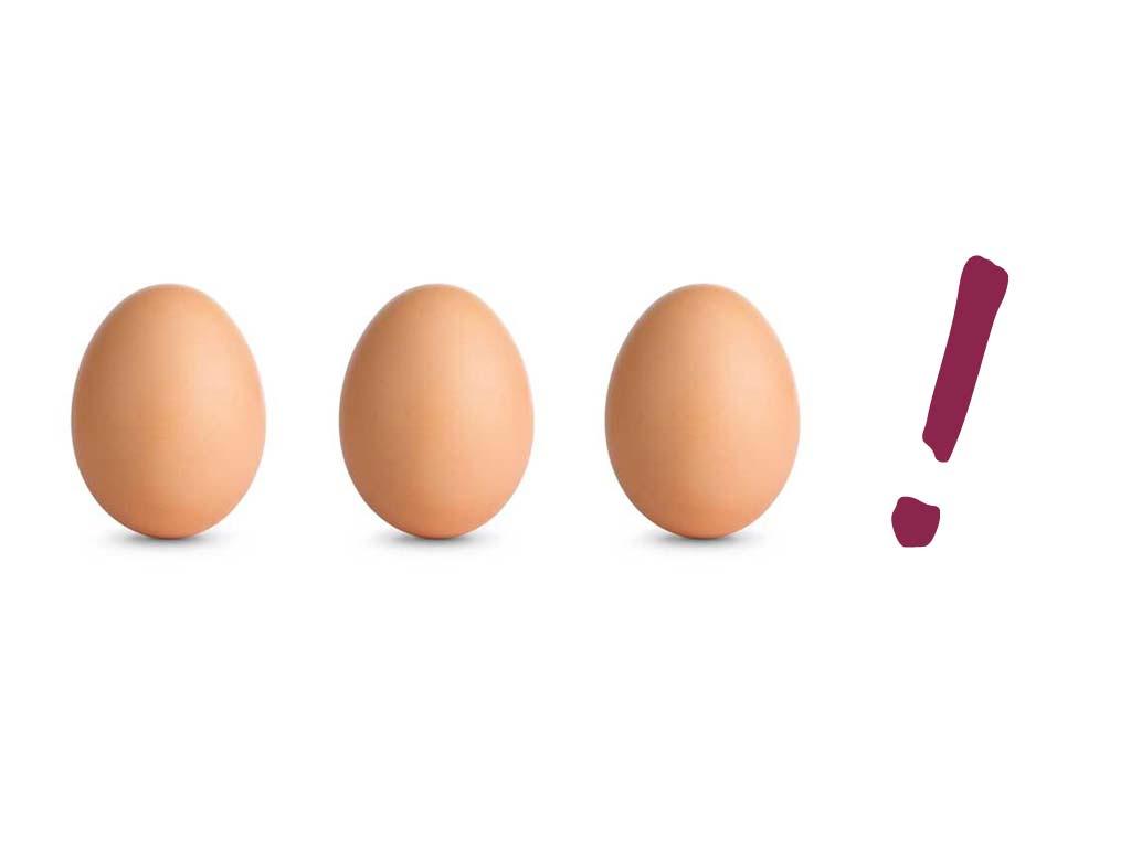 eier sind gesund wie