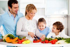 Gesunde Ernährung für Familien mit Kindern