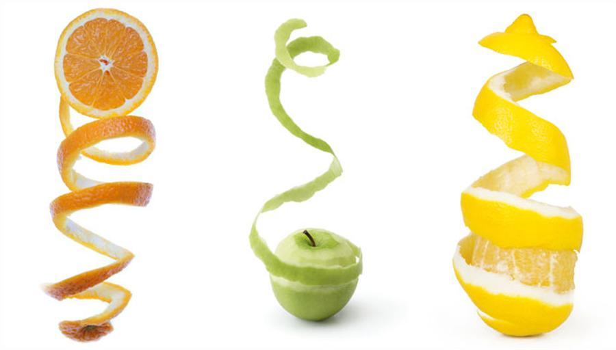 Obst Gemüse Schälen