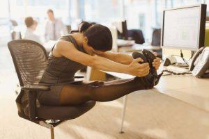 Büro-Stretching