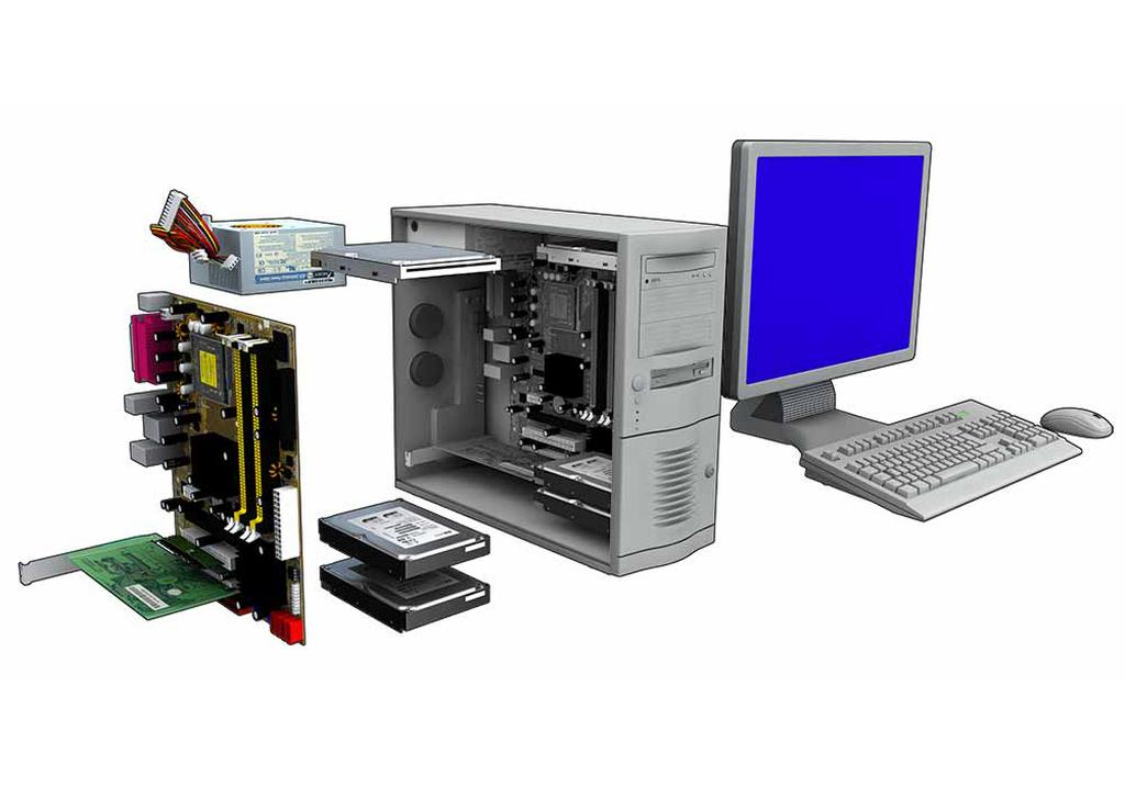 Welche teile hat ein PC? - Wie-funktioniert.com