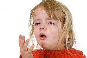 Kinder erkältet