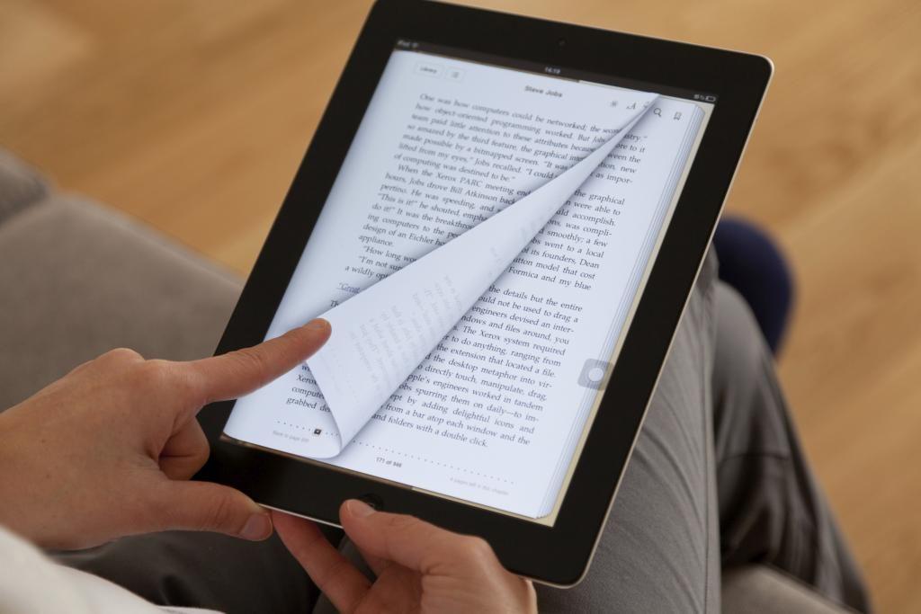 Ein Buch Auf Dem Ipad Lesen Wie Funktioniertcom