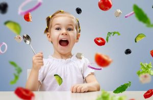 Gesunde Lebensmittel für Kinder