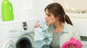 muffige Wäsche
