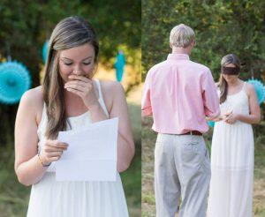 Heiratsantrag per Liebesbrief